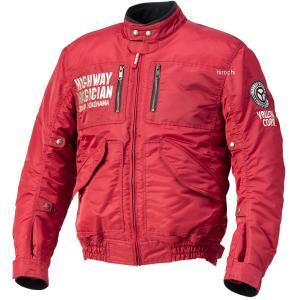 YB-0300 イエローコーン YeLLOW CORN 2020年秋冬モデル ウィンタージャケット 赤 LLサイズ JP店|hirochi