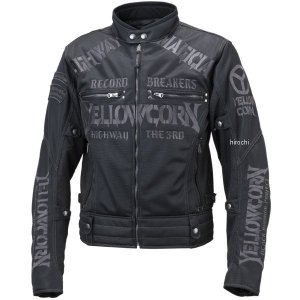 YB-9105 イエローコーン YeLLOW CORN 2019年春夏モデル メッシュジャケット 黒/ガンメタル LLサイズ JP店|hirochi