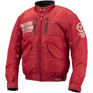 YB-9300 イエローコーン YeLLOW CORN 2019年秋冬モデル ジャケット 赤 LLサイズ JP店|hirochi