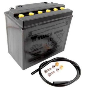 【USA在庫あり】 YB16HL-A-CX ユアサ YuMiCRON バッテリー 開放型 12V 91年以降 FX/FL JP店|hirochi