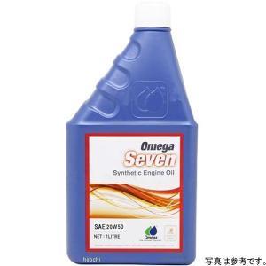 ZOM-SEV-20W50/1 オメガ OMEGA エンジンオイル 4T セブン SEVEN SAE20W50 1L JP店|hirochi