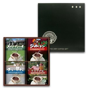お中元 自家焙煎 ドリップコーヒー ギフト コーヒー セット 契約農園 シリーズ24個入|hirocoffee-shop