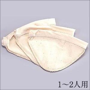 HARIO ハリオ ろか布 ウッドネック ネルドリップ  3枚セット 1〜2人用|hirocoffee-shop