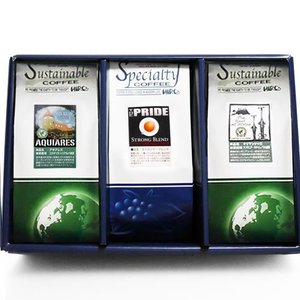 送料無料 自家焙煎 コーヒー豆 セット コーヒー ギフト8月 限定 スペシャルティコーヒー 3種類 【 コーヒーマイスター セレクト 】|hirocoffee-shop