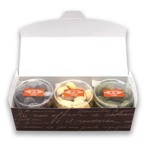 クッキー 詰合せ ギフト ヒロケーキ工房 特製 選べる 3種 セット 【 カカオ ミルク バター 抹茶 アーモンド 】|hirocoffee-shop