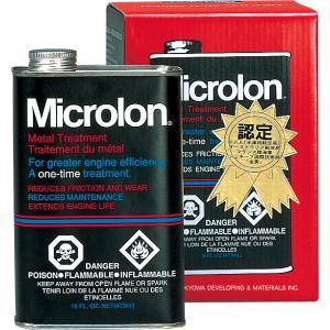 マイクロロン メタルトリートメントリキッド 8オンス エンジンオイル添加剤|hirohataautoparts