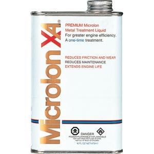 MicrolonXA マイクロロン メタルトリートメントリキッド 8オンス エンジンオイル添加剤|hirohataautoparts