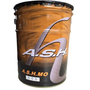 A.S.H (アッシュ) MO #50 シングルグレード 20L缶 鉱物油  メカノイズ軽減にも!|hirohataautoparts