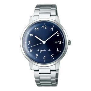アニエス b メンズ 腕時計マルチェロシリーズ     FCRK990  ボックスガラスの柔らかなニ...