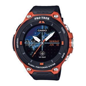 カシオ Smart Outdoor Watch PRO TREK Smart/オレンジ WSD-F20-RG 時計 高機能ウォッチ アウトドアギア