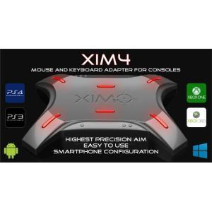 XIM4  コンソール入力アダプター (PS4/PS3/XboxONE/Xbox360) 日本版正規品  1年間製品保証付き 永年メールサポート付き 日本語クイックスタートガイド付属