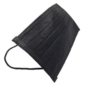 黒マスク 使い捨て タイプ 50枚セット 不織布製 三層構造式 おしゃれ  _