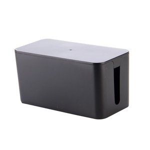 ケーブル収納 ケーブルボックス 《Sサイズ》 《ブラック》 コード収納 タップボックス タップ収納 ...
