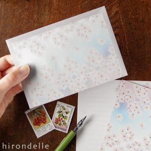 桜の花 レターセット|hirondelle