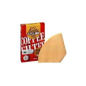 【カリタ】コーヒーフィルターみさらし103濾紙4〜7人用(40枚入)