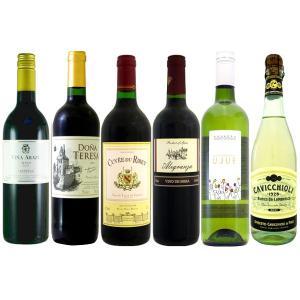 赤・白・泡 今晩はどれにしよう 厳選ワイン6本セット|hiroshimatsuya