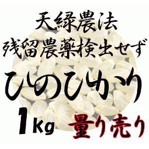 藍藻育ち 100% 天緑農法 ひのひかり 1kg〜 高LPS 残留農薬250項目すべて検出せず 無農薬 玄米量り売り  量り売り 平成29年度産 2017|hiroshimatsuya