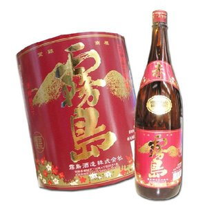 芋焼酎 赤霧島 25度 1800ml 霧島酒造 2017|hiroshimatsuya