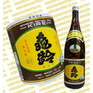 亀齢 本醸造 上撰 1800ml 広島 きれい|hiroshimatsuya