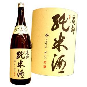亀齢 純米 寒仕込 1800ml 広島 きれい|hiroshimatsuya