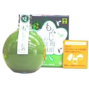 もみじ饅頭のお酒 抹茶味 360ml 6度 化粧箱入り 中国醸造株式会社|hiroshimatsuya