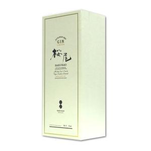 桜尾 ジン 700ml 中国醸造 リミテッド SAKURAO GIN LIMITED クラフトジン 長S さくらお サクラオ hiroshimatsuya 02