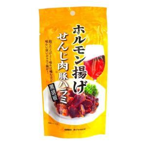 広島名物 せんじ肉  せんじがら 豚ハラミ黒胡椒 40g入り1袋  6袋でメール便送料無料|hiroshimatsuya