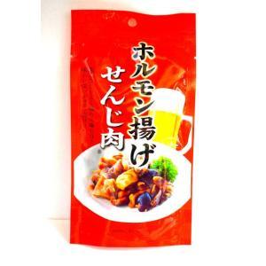 国産豚ホルモン(小腸)を食べやすく一口大にカット。 茹でて干した豚ホルモンジャーキーです。  噛むほ...