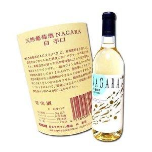 岐阜 白ワイン 天然葡萄酒 NAGARA 720ml 自然発酵 蔵酵母 中辛口 無添加|hiroshimatsuya