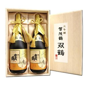 大吟醸 双鶴賀茂鶴 720ml×2本セット 化粧箱入り 広島 ソウカクカモツル|hiroshimatsuya
