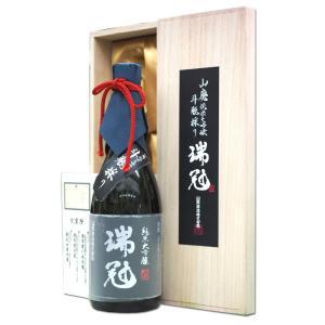 純米大吟醸 斗瓶採り 瑞冠 純米大吟醸 山田 40 山はい 720ml 広島 山岡酒造 ずいかん|hiroshimatsuya