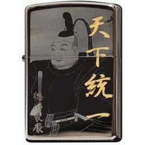 戦国武将 Zippo ライター 徳川家康 専用木箱付き 新品 hiroshimaya-pachi