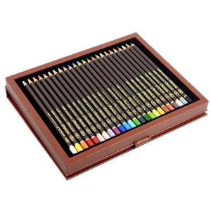 三菱鉛筆 色鉛筆 ユニ カラードペンシル ペリシア 24色セット 送料無料|hiroshimaya-pachi