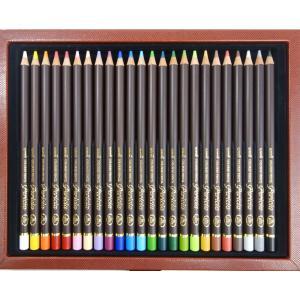 三菱鉛筆 色鉛筆 ユニ カラードペンシル ペリシア 24色セット 送料無料|hiroshimaya-pachi|04