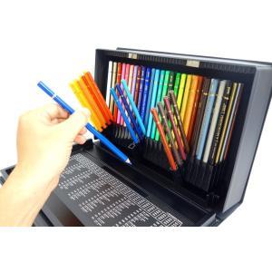 三菱鉛筆 色鉛筆 ユニカラー 100色セット UC100C 大人の塗り絵 送料無料|hiroshimaya-pachi|03
