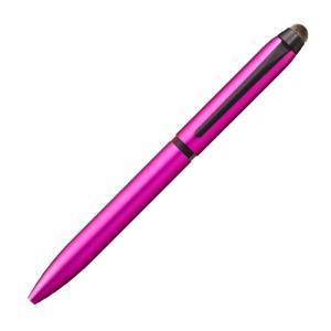 三菱鉛筆 ジェットストリーム SXE3T-1800-05 スタイラス ピンク ( スマホタッチペン ) 3色ボールペン0.5mm 送料無料|hiroshimaya-pachi