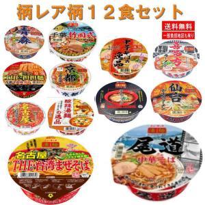 ヤマダイ ニュータッチ 凄麺 全国ご当地ラーメン 12食 レア柄セット 関東圏送料無料|hiroshimaya-pachi