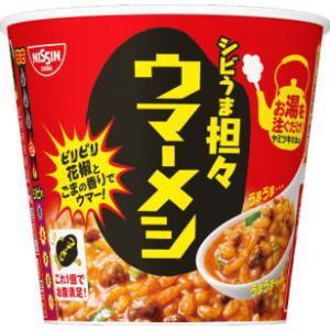 新着 訳あり 日清食品 熱湯タイプ ごはん 12食セット カレーメシ ハヤシメシ 送料無料|hiroshimaya-pachi|03