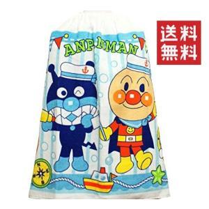 アンパンマン プール用 巻きタオル アンパンマンとバイキンマン(50×100cm) 送料無料|hiroshimaya-pachi