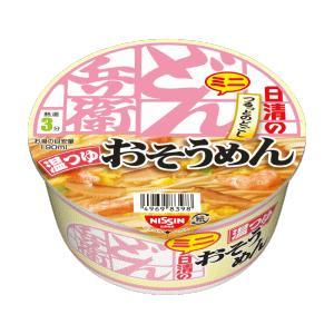 新着 日清食品 カップ麺 どん兵衛 おそうめん 肉うどん 鴨だしそば も入ったミニシリーズ 6種類×2個(12食) セット 送料無料|hiroshimaya-pachi|04