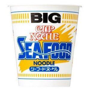 日清食品 カップヌードル ビッグ シーフード味 1箱12食