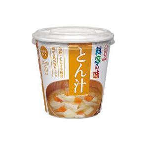 マルコメ 即席カップみそ汁 料亭の味 とん汁 6食×4箱 格安|hiroshimaya-pachi