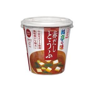 マルコメ 即席カップみそ汁 6食×4箱 料亭の味 赤だしとうふ 格安|hiroshimaya-pachi
