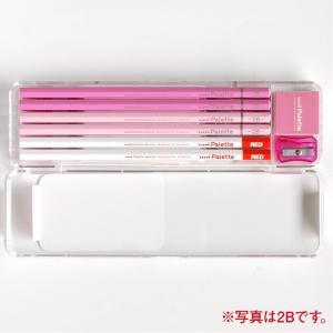 三菱鉛筆 鉛筆 ユニパレット かきかた鉛筆 K1055 パステルピンク B/2B バリューパック 送料無料|hiroshimaya-pachi|02