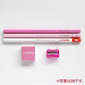 三菱鉛筆 鉛筆 ユニパレット かきかた鉛筆 K1055 パステルピンク B/2B バリューパック 送料無料|hiroshimaya-pachi|03