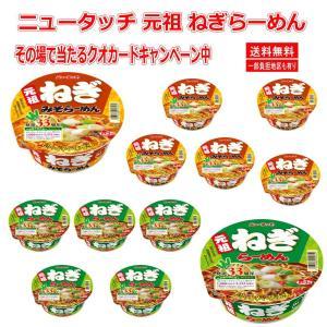 新着 期間限定 ポイント5倍 ニュータッチ 元祖 ねぎラーメン しょうゆ みそ 味 2種12個セット 33周年記念 関東圏送料無料|hiroshimaya-pachi