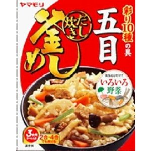 即食 時短食 レトルト 新着 ヤマモリ釜めしの素 特集 10種アソートセット 関東圏送料無料 本格風味をご家庭で|hiroshimaya-pachi|09