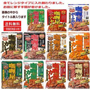 新着 即食 時短食 レトルトパックセット ハウス食品 ハウス カリー屋カレー 10食 カレー 三昧 関東圏送料無料|hiroshimaya-pachi