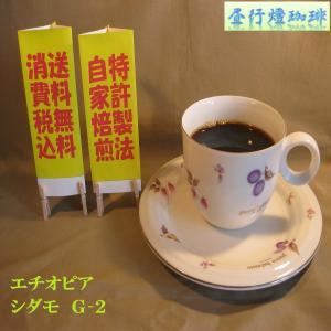 モカ【エチオピア シダモ G2】(200g)送料無料消費税込み hiruandoncoffee