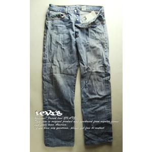Levi's デニム ジーンズ リーバイス【古着】(33×36)501 Regular Jeans ...